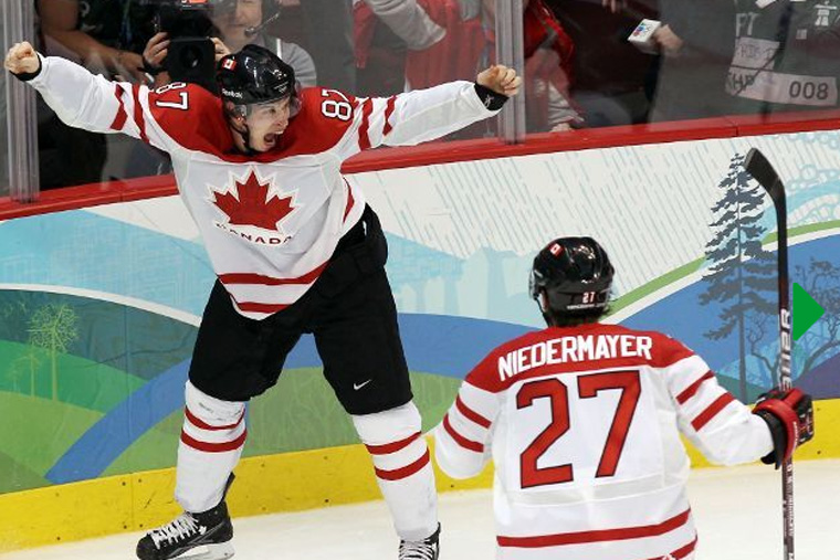 Photo Vancouver 2010 Hockey sur glace L'équipe de France Olympique aux JO de Vancouver 2010