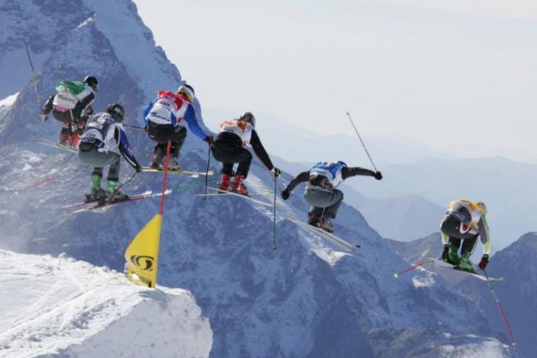 Photo Enak Gavaggio Ski acrobatique L'équipe de France Olympique aux JO de Vancouver 2010